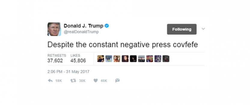 Don't make investments decisions based on 'covfefe'