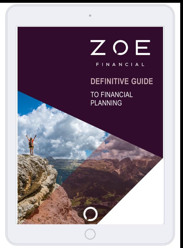 Definitive Guide to Financial Planning - Financial advisor - Zoe Financial