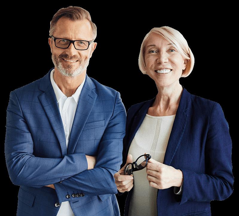 Couple of Financial Advisors