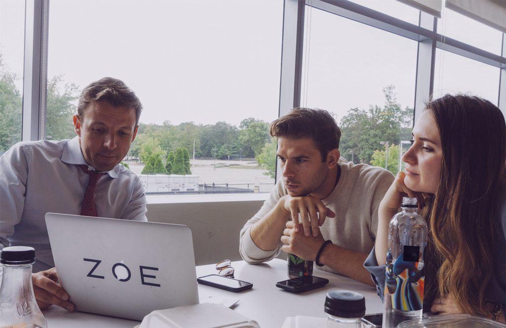 Zoe Team Working